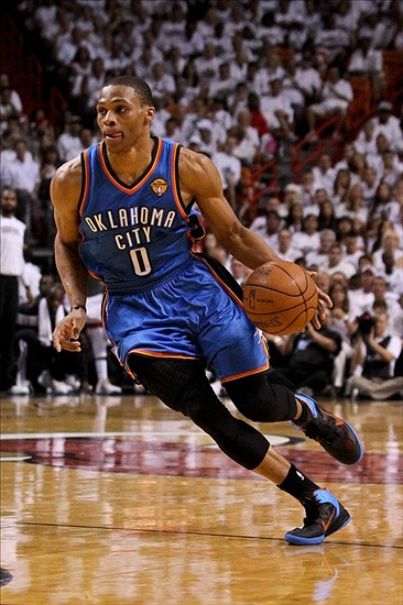 Oklahoma City Thunder 2012-13 Projections: Russell Westbrook - Thunderous Intentions - An ...