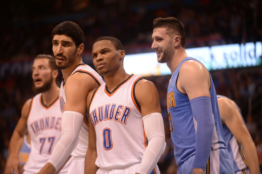 okc thunder winners and losers from nuggets preseason matchup https thunderousintentions com 2016 10 18 okc thunder winners losers nuggets