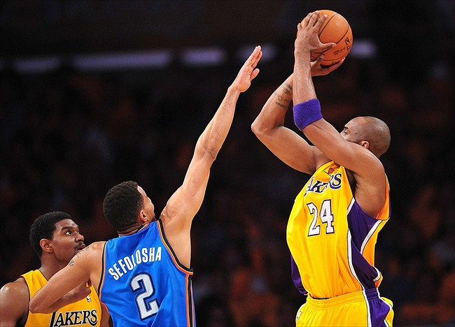 The Kobe Assist and how it relates to the OKC Thunder - Thunderous ...