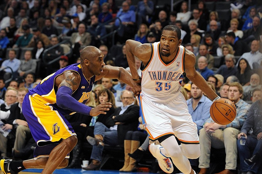 100eae0f5b3b3d OKC Thunder (17-4) vs. LA Lakers (10-11) Preview - Thunderous ...