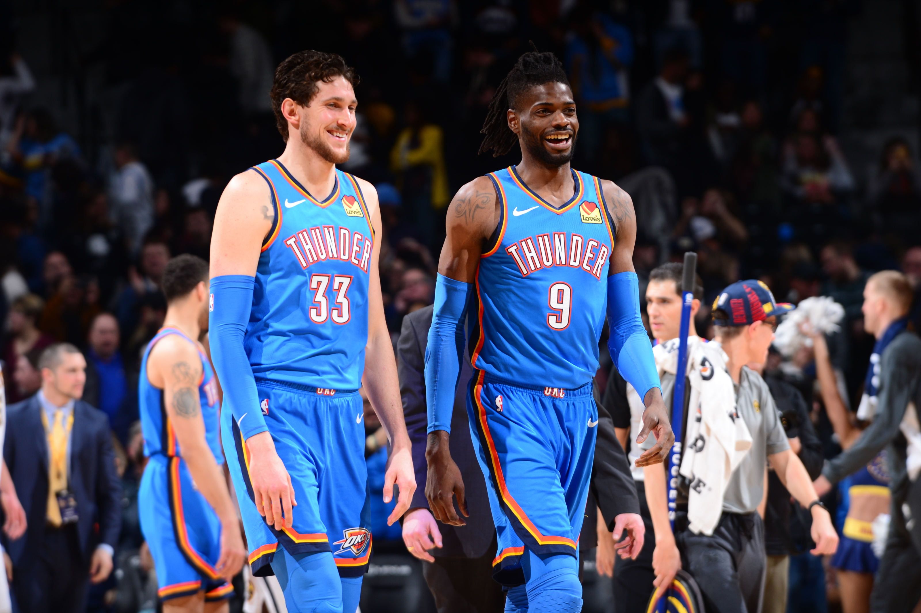OKC Thunder: Mike Muscala rediscovers the 3-point range
