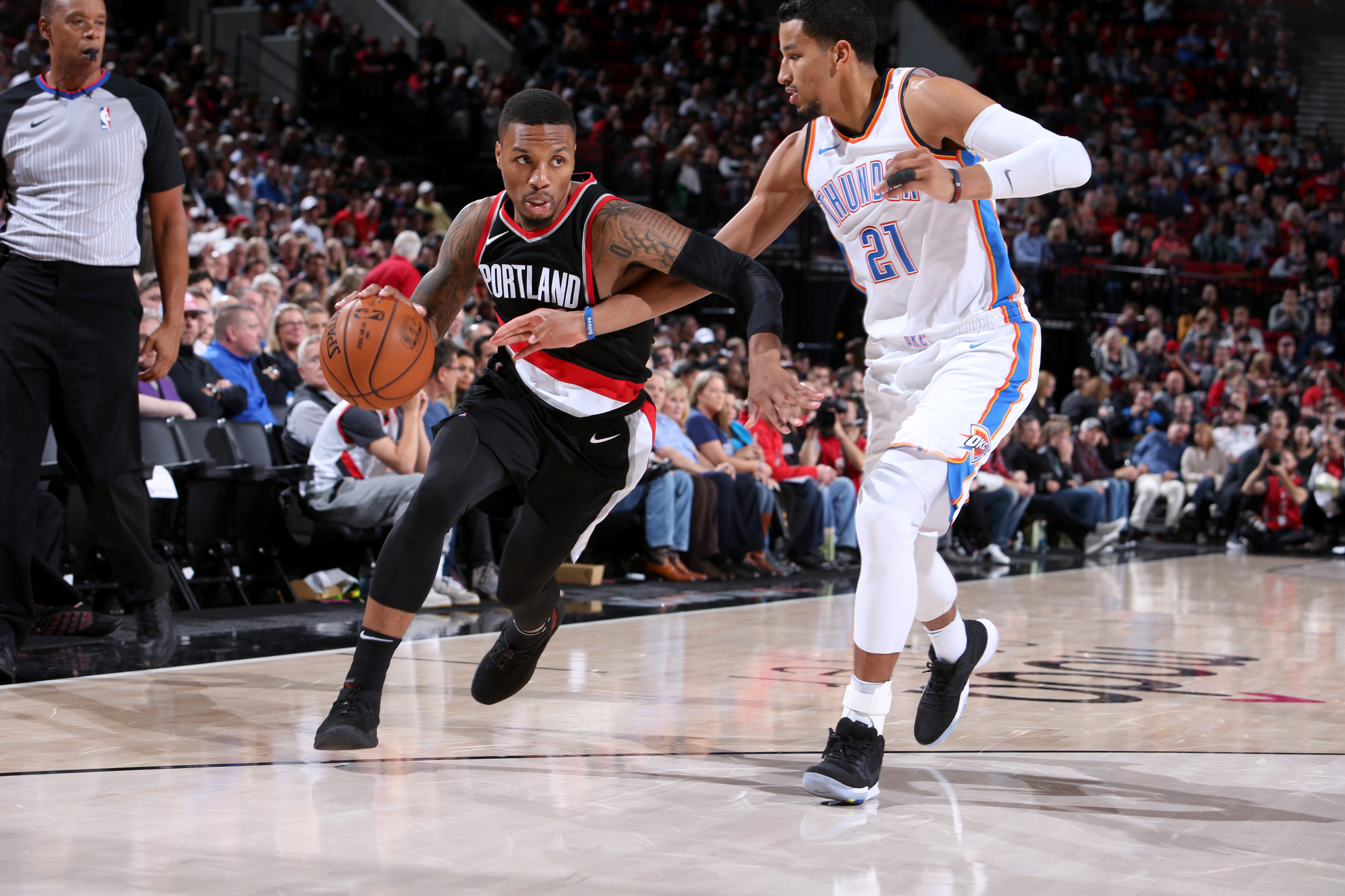 thunder vs trail blazers - photo #26