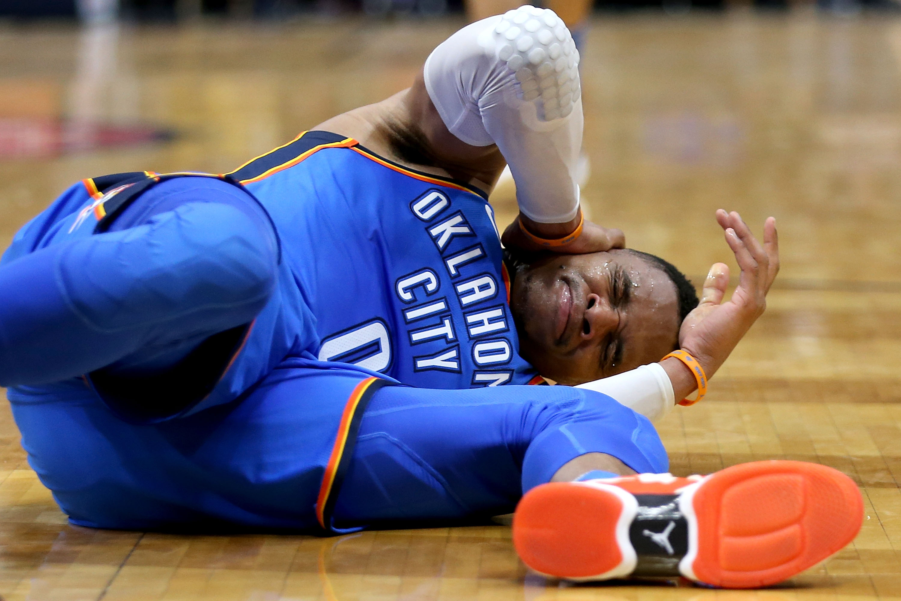 Kevin Durant discusses Russell Westbrook scuffle