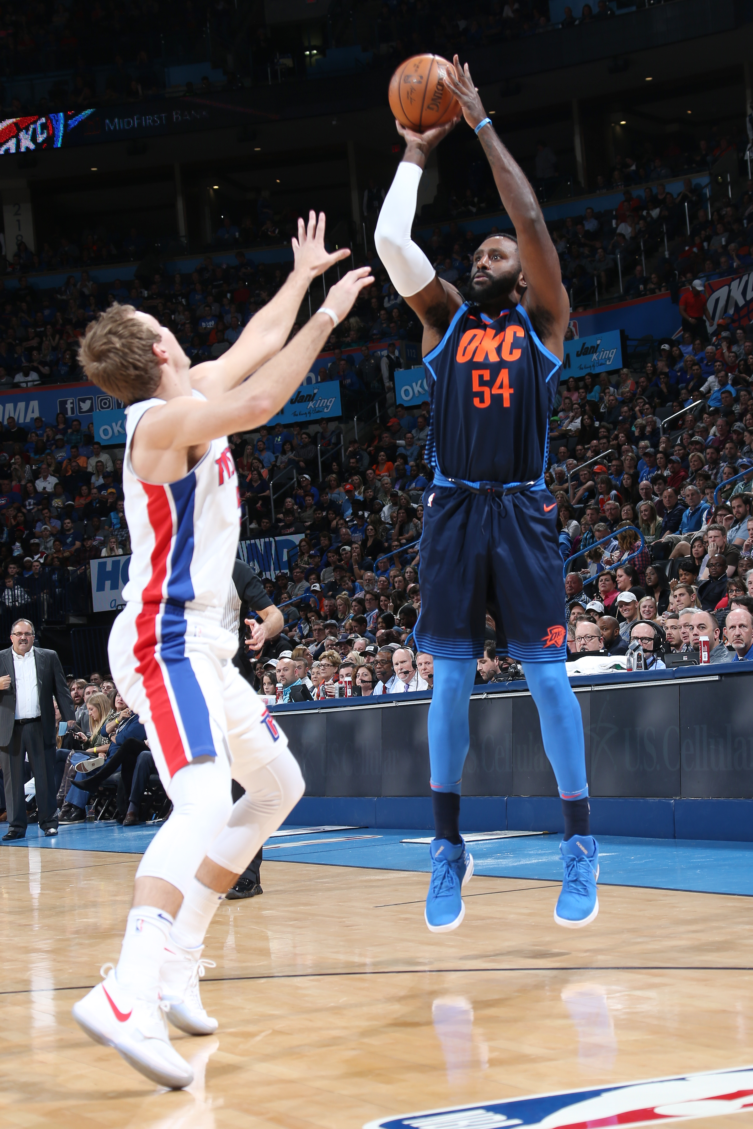 OKC Thunder need to increase Patrick Patterson's minutes