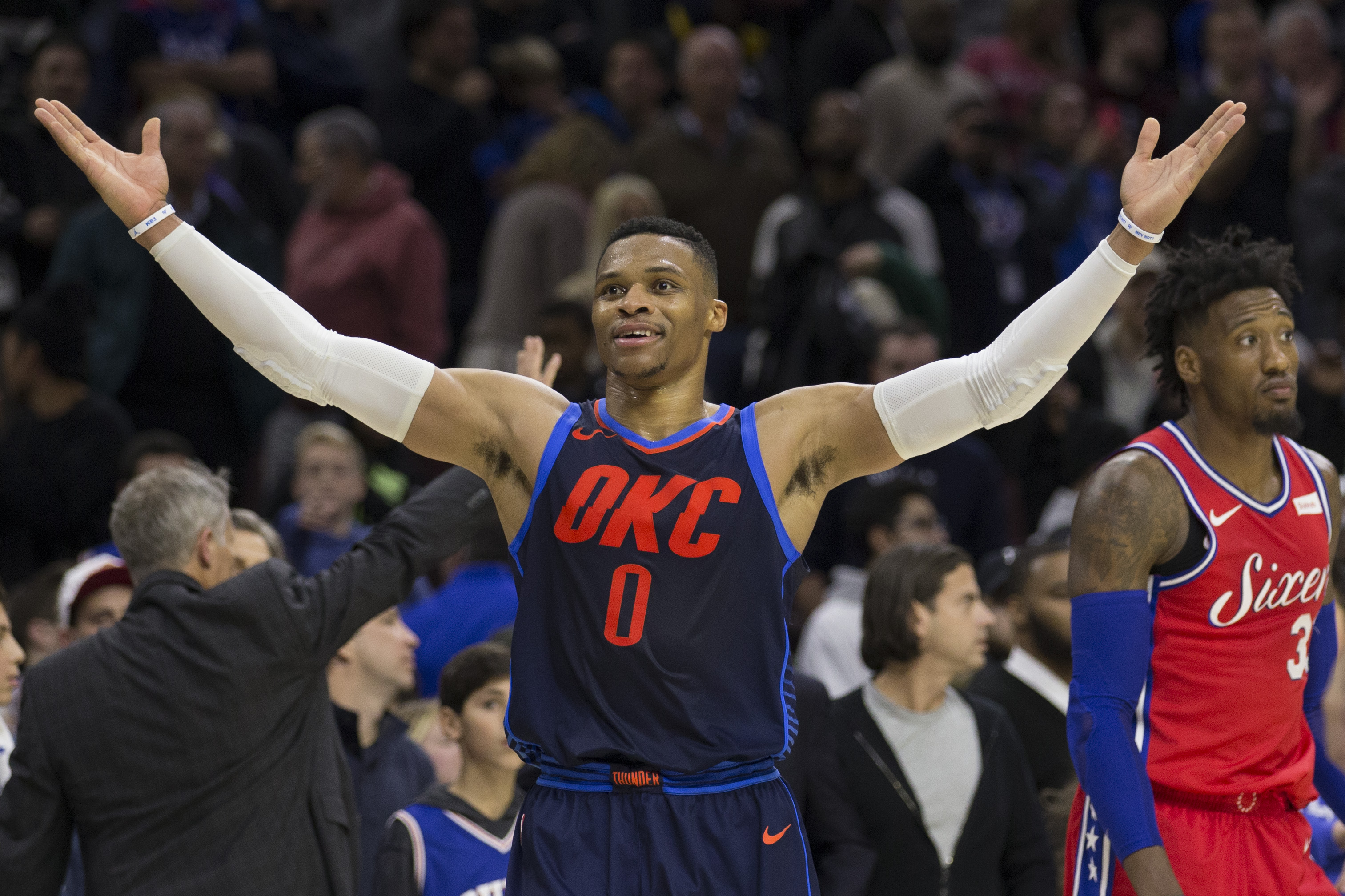 Thunder C in concussion protocol, out Saturday vs. Knicks