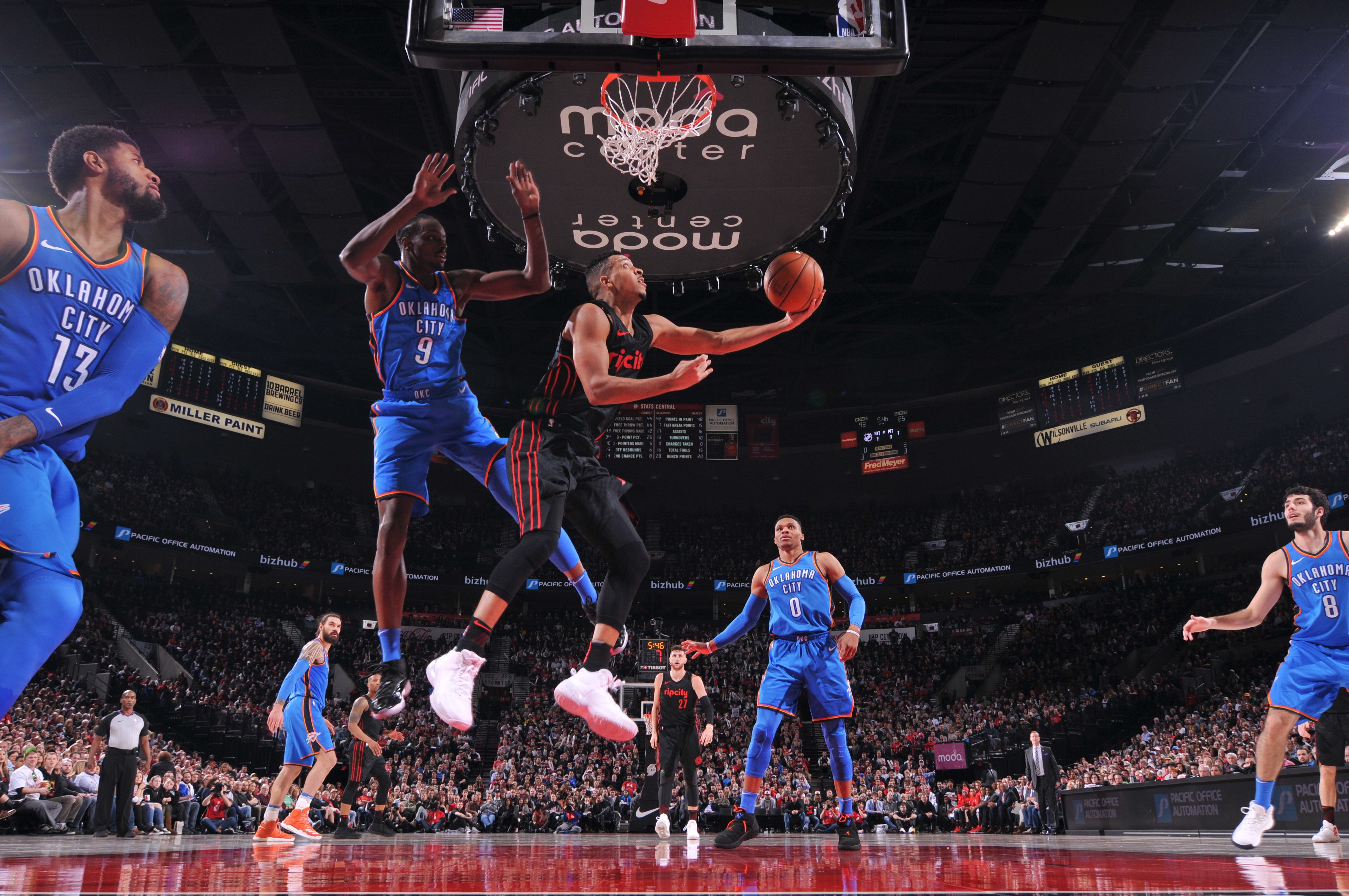thunder vs trail blazers - photo #20