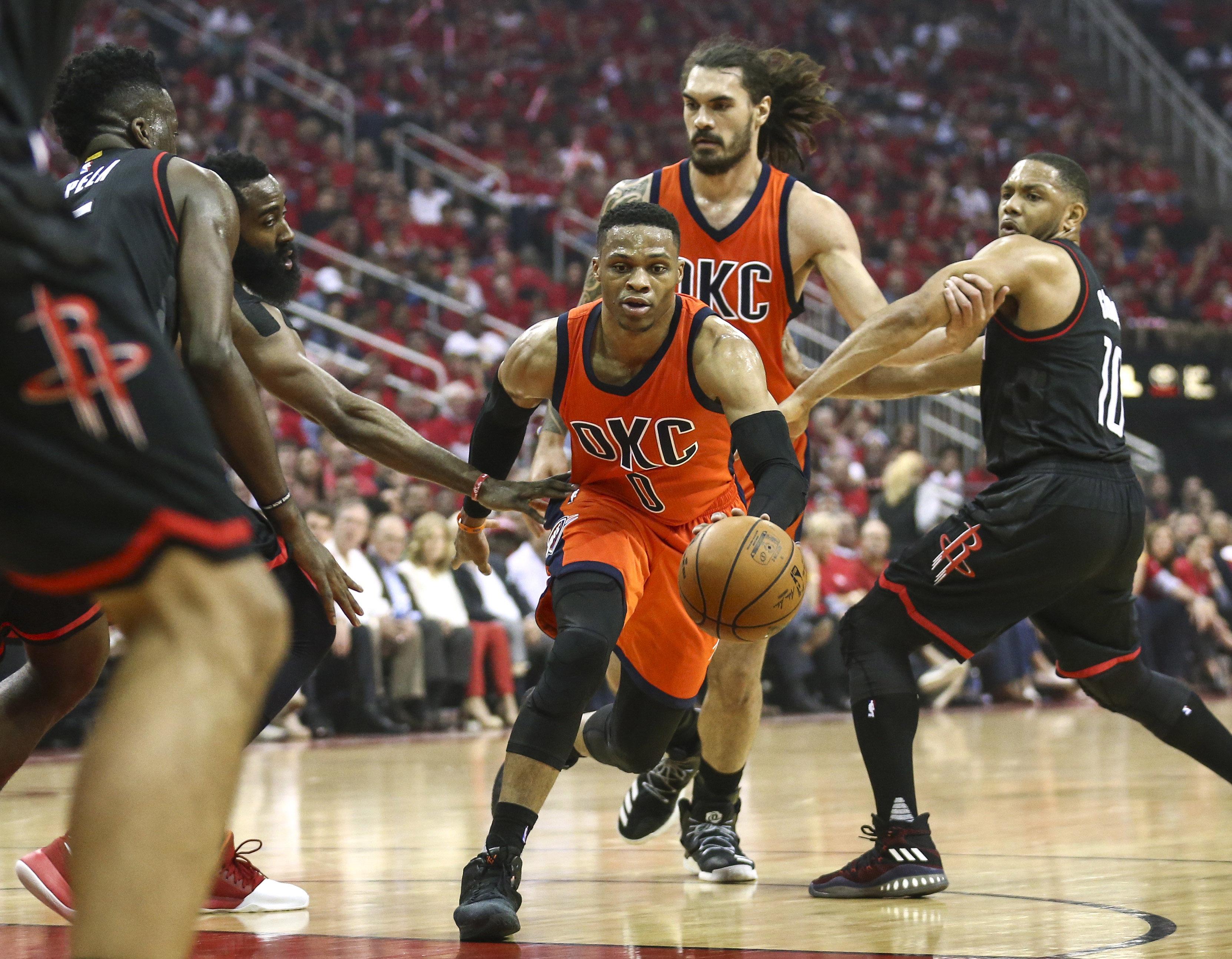Okc Thunder Vs Houston Rockets Game 3 Preview