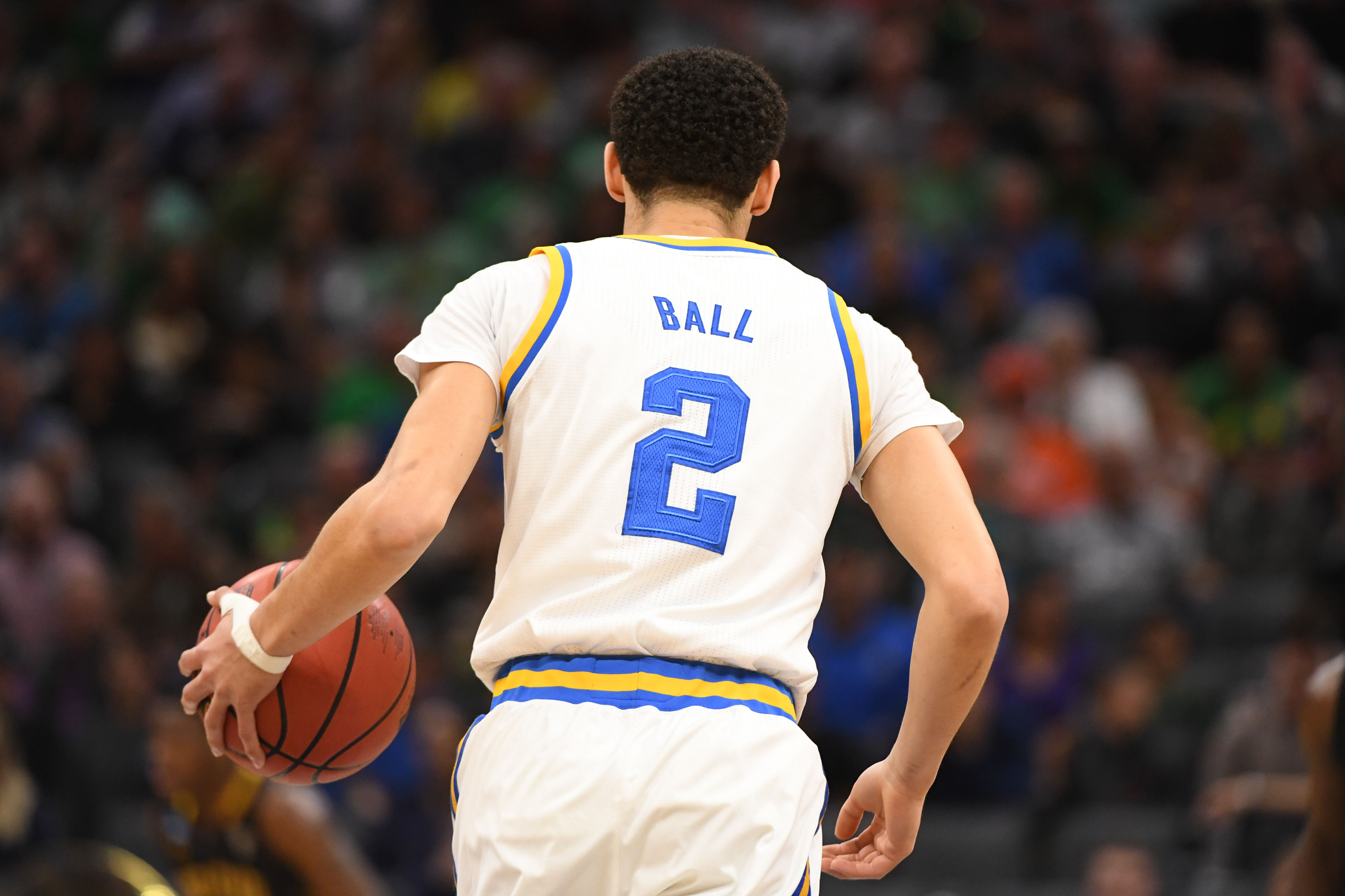 Thunder Nba Draft Prospect Series Lonzo Ball