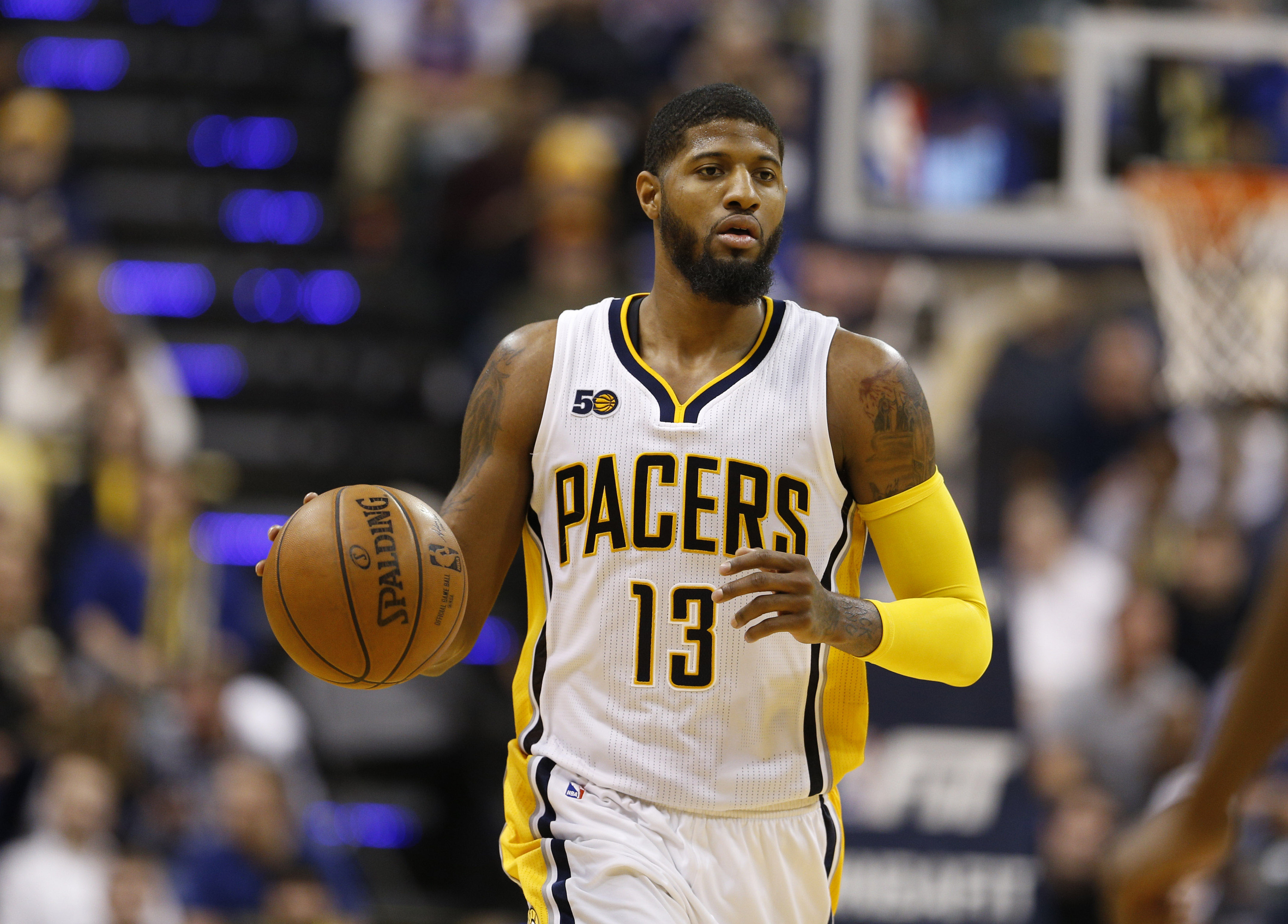 887c00a3eab Jan 23, 2017; Indianapolis, IN, USA; Indiana Pacers forward Paul George