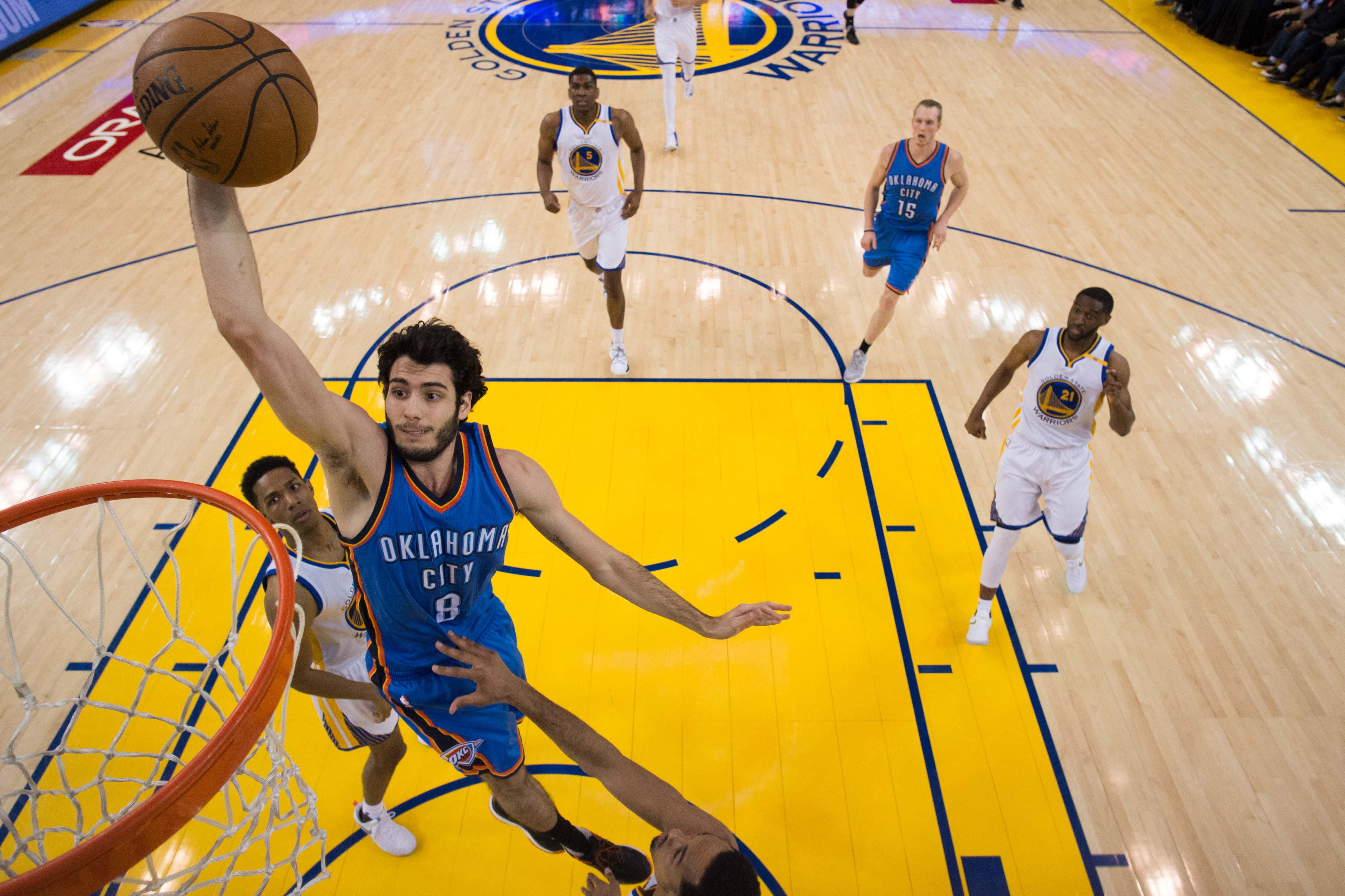 Views from OKC: Abrines and McDermott, please come back