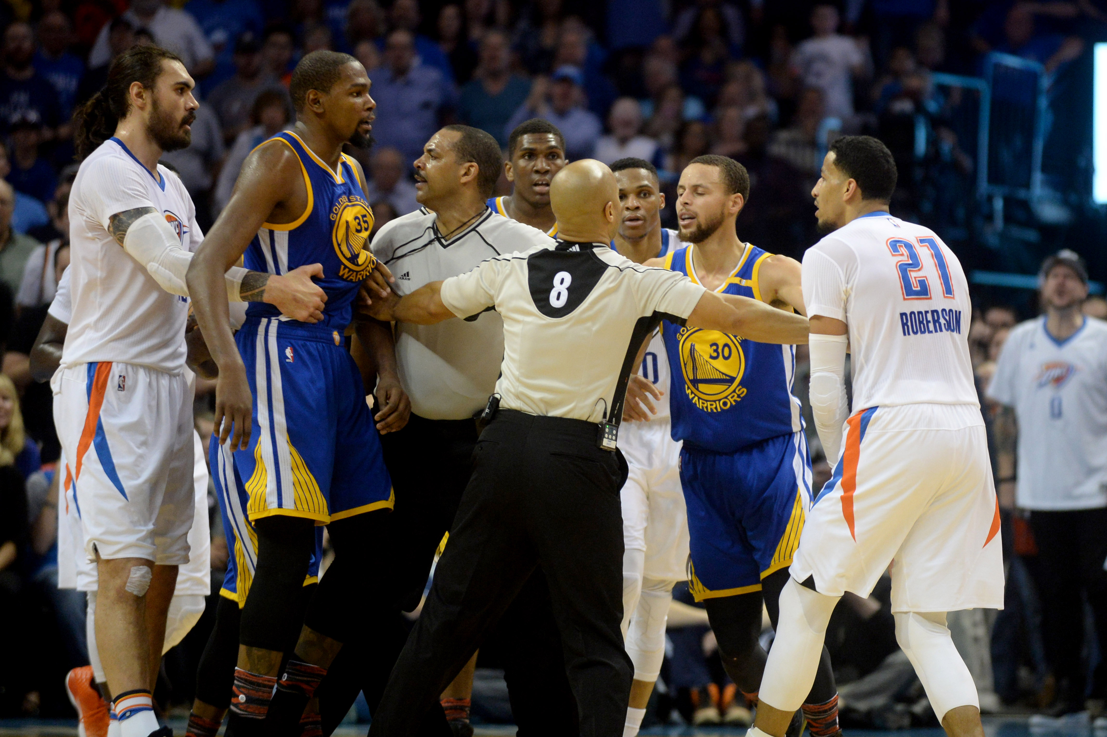 986af3fadfc1 An OKC Thunder vs. Golden State Warriors playoff round is inevitable