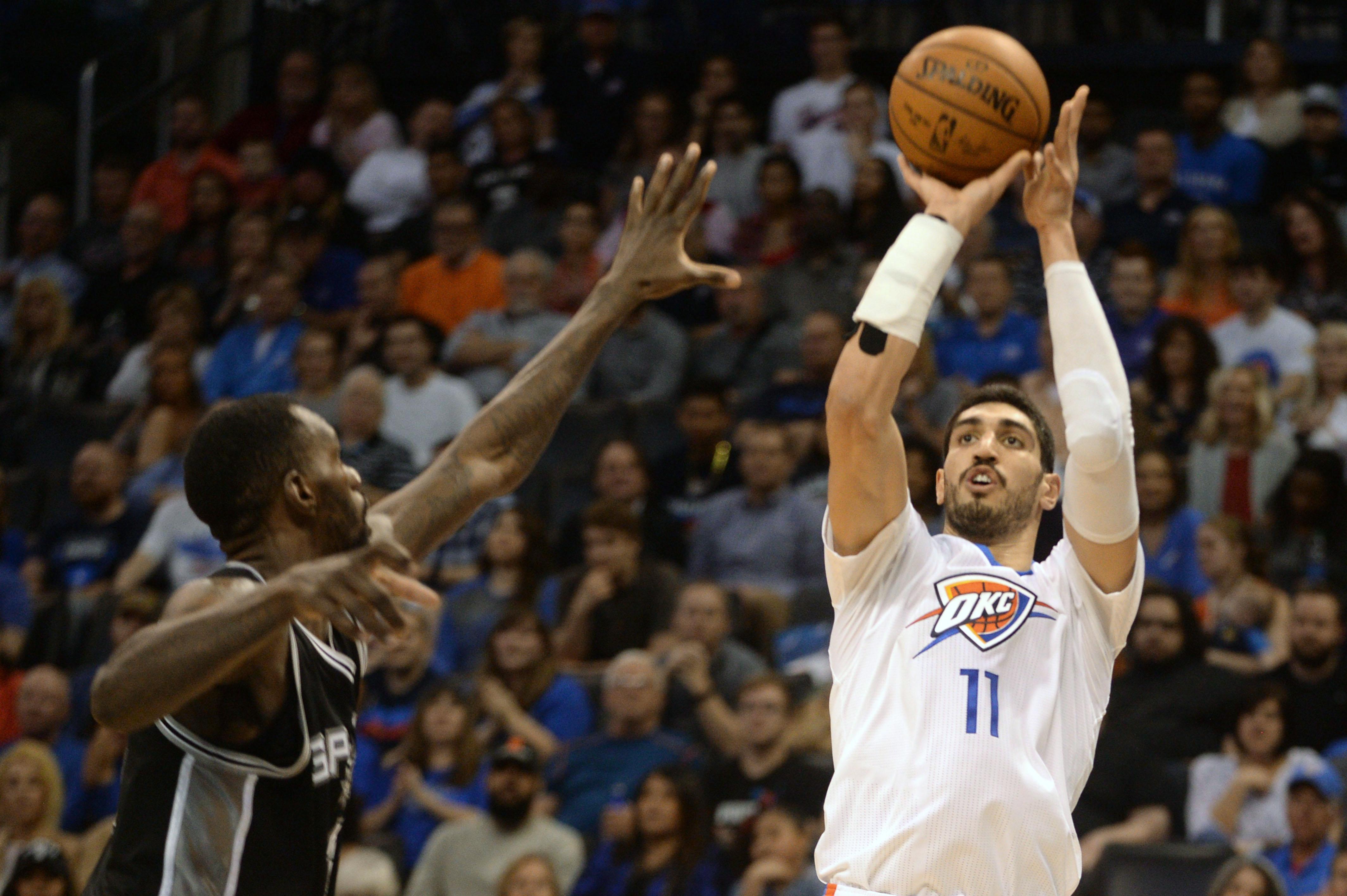 Okc Thunder Rout San Antonio Spurs Westbrook 31st Triple Double