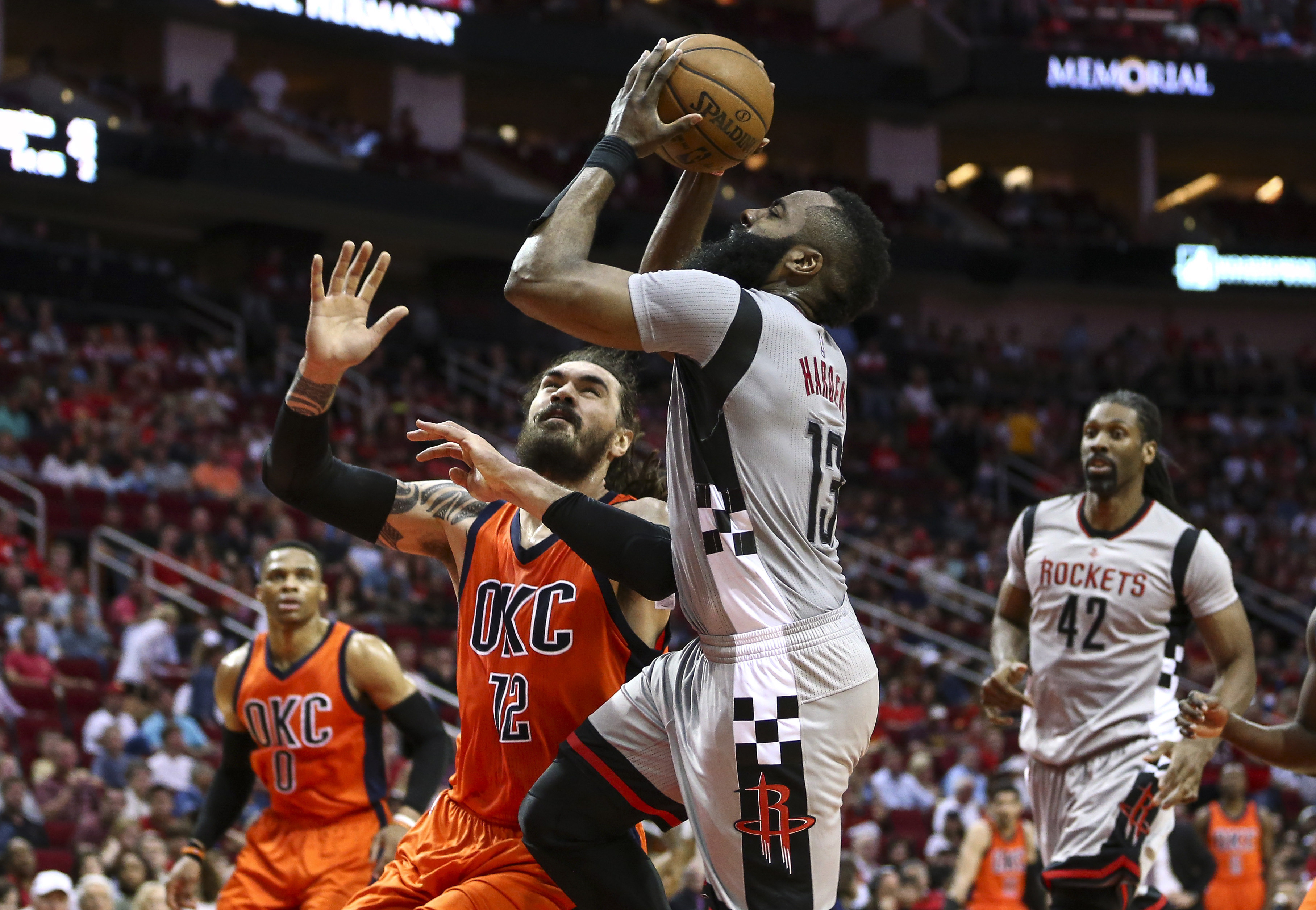 Top Five Houston Rockets the OKC Thunder Must Create Defensive Game Plan ba386044868