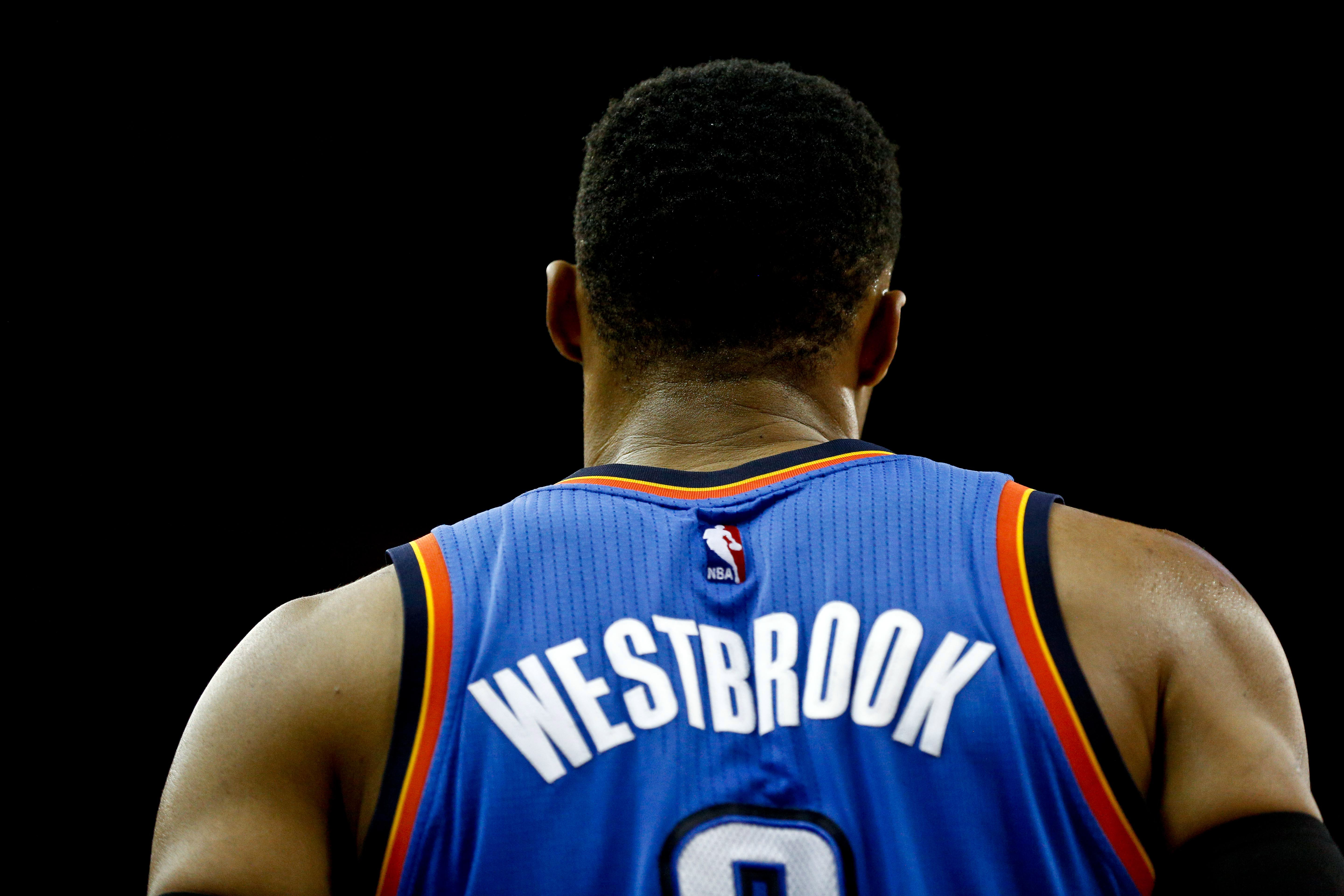 Russell Westbrook officially has the fifth-most triple