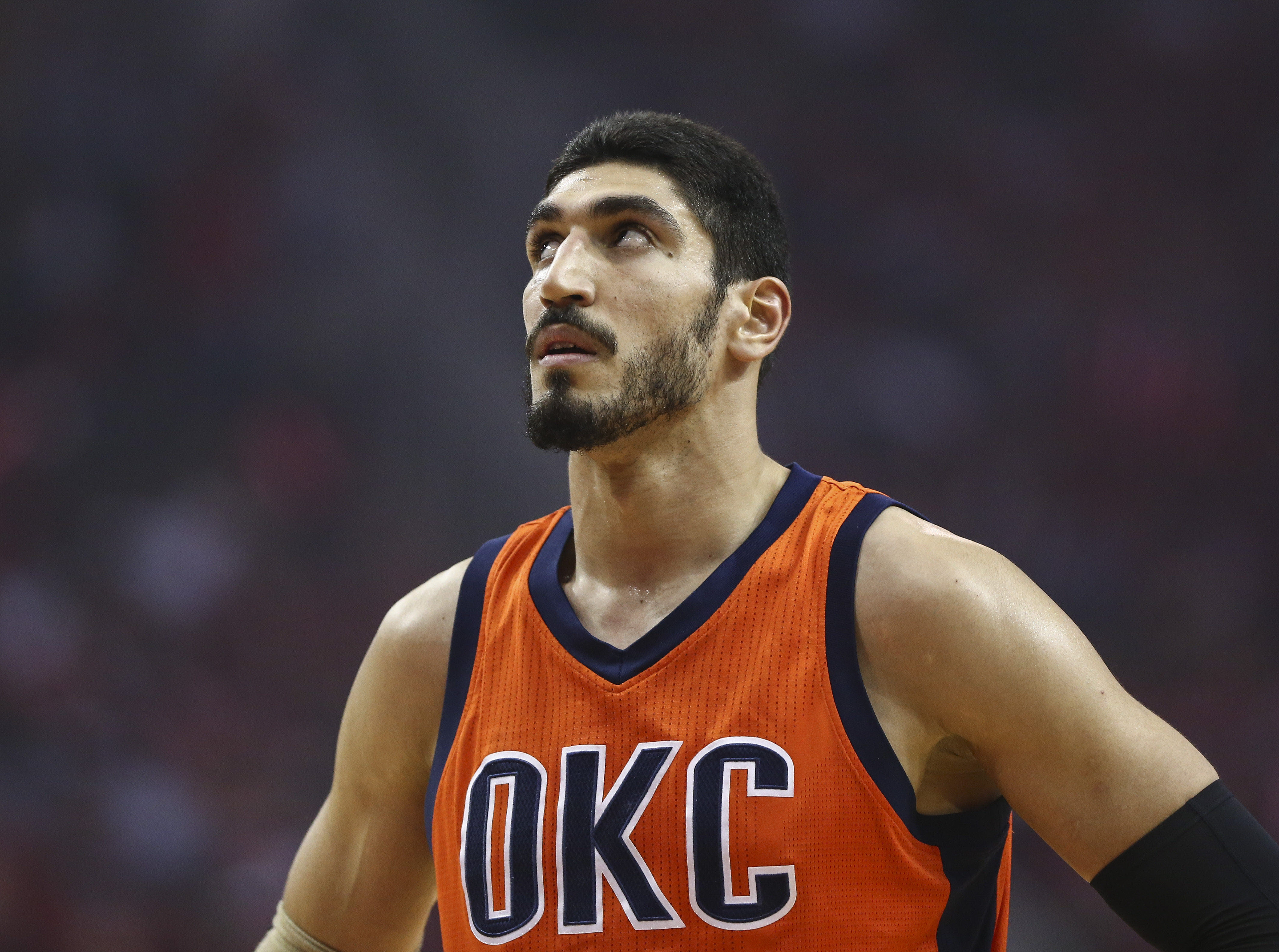 Enes Kanter made it more difficult for the OKC Thunder to ...